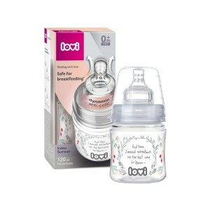 Lovi Trends Indian Summer  butelka 120ml ze smoczkiem 0m+