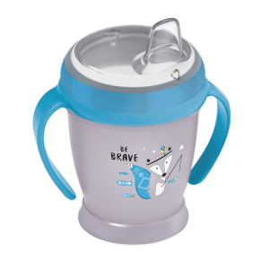 Lovi Kubek  Niekapek Mini 210ml Indian Summer Szaro-Niebieski  9+