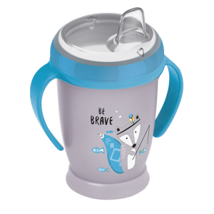 Lovi Kubek  Niekapek Mini 250 ml Indian Summer Szaro-Niebieski  12+