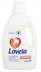 Lovela Mleczko do prania - Kolor 1,5 l