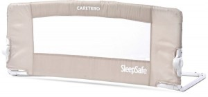 Caretero barierka do łóżka sleepsafe brown