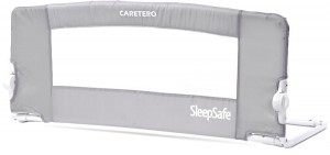 Caretero barierka do łóżka sleepsafe grey