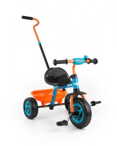 Milly Mally Rowerek Turbo Orange-Turquise