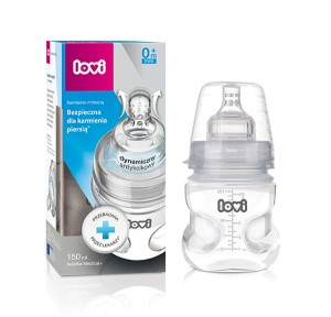 Butelka LOVI Medical+ SUPER Vent 150 ml, smoczek 0m+