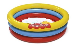 Bestway FISHER PRICE  mini basenik z kulkami